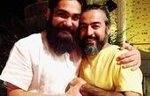 دو خواننده خوش صدا  در آغوش هم+عکس