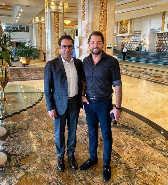 حضور بهرام رادان در هتلی لاکچری + عکس