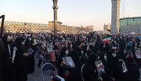 جشن پیروزی هواداران آیتالله رئیسی در تهران/ «به کوری چشم بی بی سی، رای ما شد رئیسی»