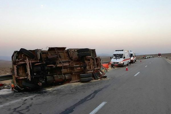 عامل تصادف اتوبوس راهیان نور مشخص شد