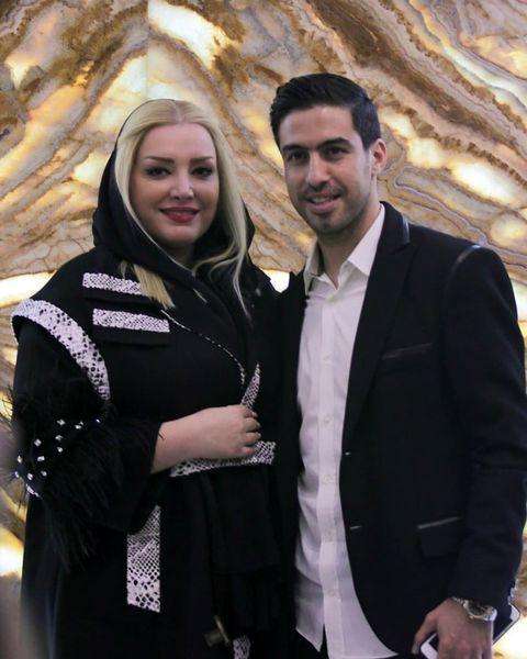 خسرو حیدری در کنار همسرش+عکس