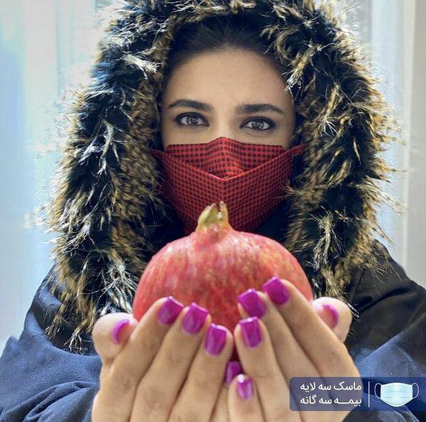 انار یلدایی لیندا کیانی + عکس