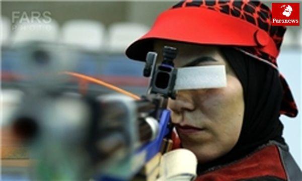 در تفنگ بادی دختران، مصاف 3 تیرانداز ایرانی با حریفان جهانی