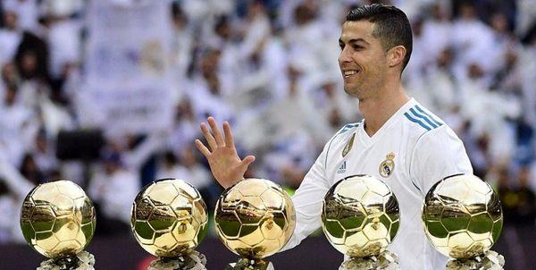 سالگرد پنجمین توپ طلای فوق ستاره پرتغالی+ عکس