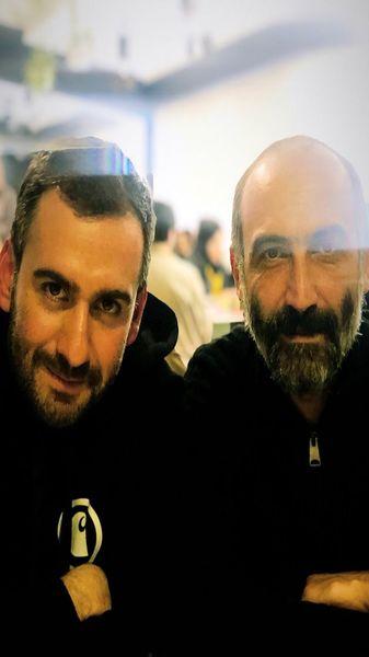 نیما شعبان نژاد در کنار پدر دو پینگی اش + عکس