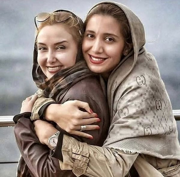 کتایون ریاحی در آغوش بازیگر مشهور + عکس