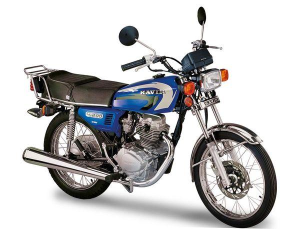 قیمت انواع موتورسیکلت+جدول