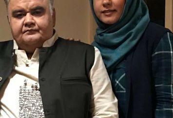 شباهت اکبر عبدی و دخترش+عکس