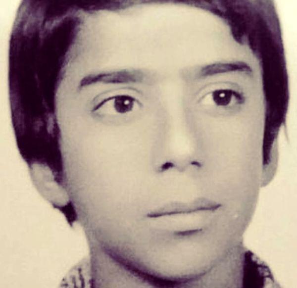 نوجوانی نصرالله رادش + عکس