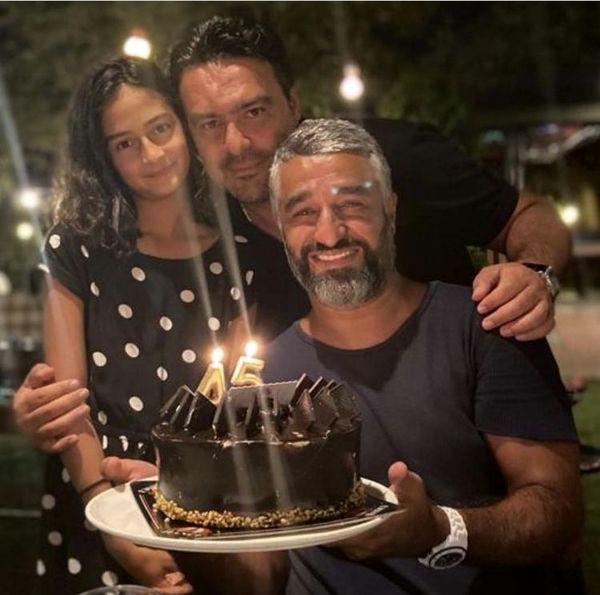تولد پژمان جمشیدی در کنار دوستانش + عکس