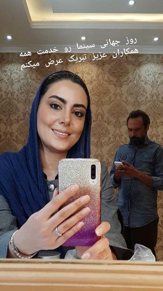 تبریک نیلوفر شهیدی به مناسبت روز سینما + عکس