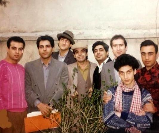 عکس زیرخاکی از مهران مدیری، رضا عطاران و رفقا