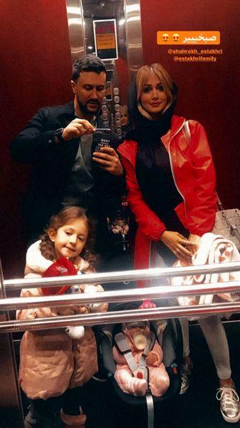 عکس قدیمی خانوادگی شاهرخ استخری