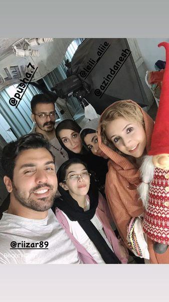 شبنم قلی خانی و بچه هایش + عکس