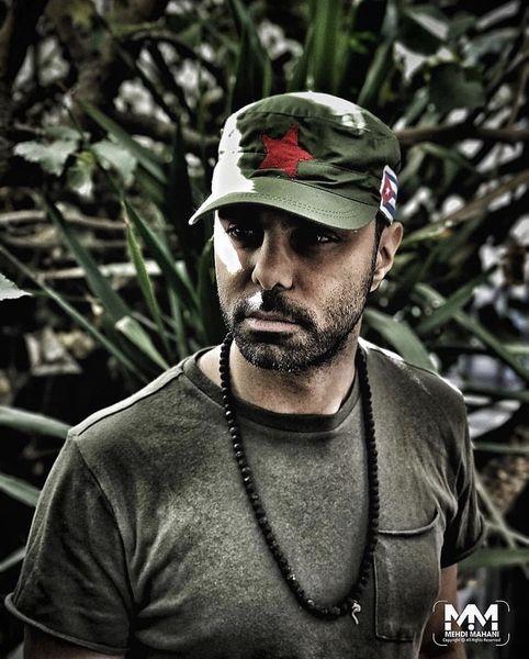 استایل ارتشی رنگآقای بازیگر + عکس
