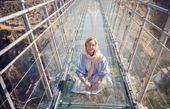 شبنم قلی خانی روی پلی خطرناک + عکس