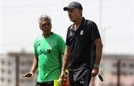 کیروش: با صعود به مرحله دوم باید به بازیکنهای ایران تعظیم کرد
