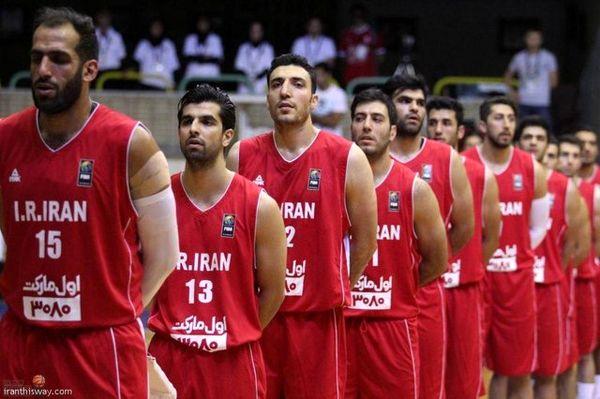 ترکیب نهایی ۱۲ نفره بسکتبال ایران برای بازیهای آسیایی