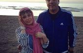 صبا راد و همسرش در مسافرت+عکس