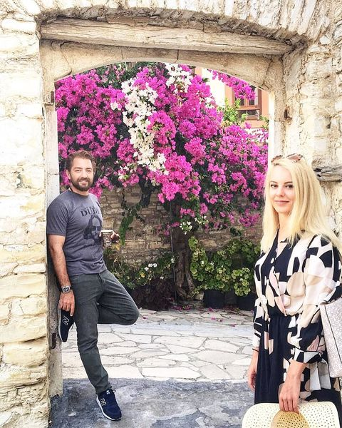 بهرام رادان در کنار خانم بازیگر هالیوودی+عکس