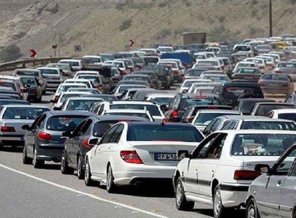 ترافیک نیمه سنگین در آزادراه کرج-قزوین