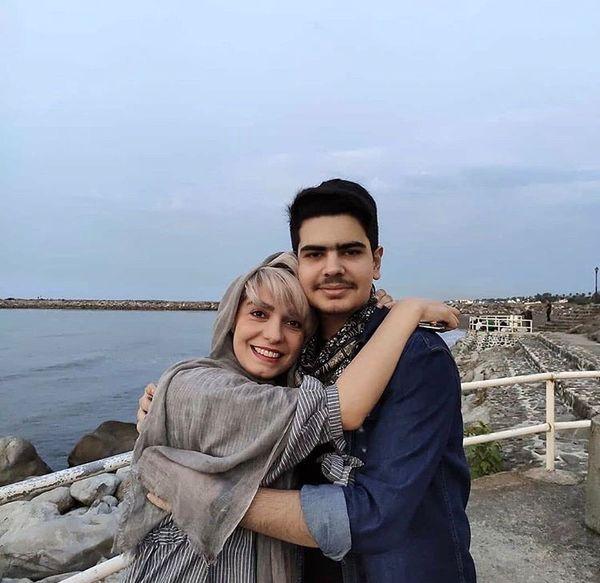 الیکا عبدالرزاقی در آغوش برادرزاده اش + عکس