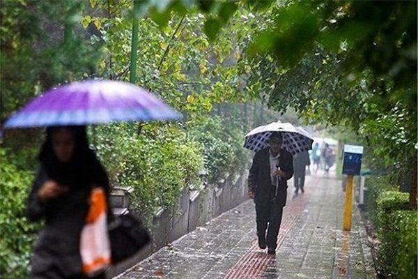 گزارش عدم آبگرفتگی معابر اصلی در شمال تهران