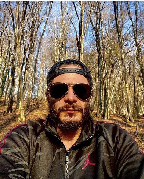 جنگل نوردی علیرضا رئیسی + عکس