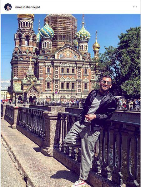 نیما خان مشهور در روسیه + عکس
