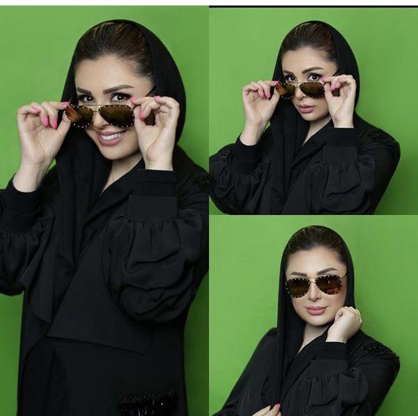 استایل جدید نیوشا ضیغمی با عینک + عکس