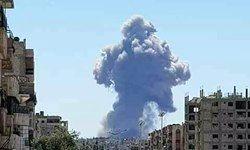 وقوع چند انفجار در اطراف شهر «القطیفه» سوریه