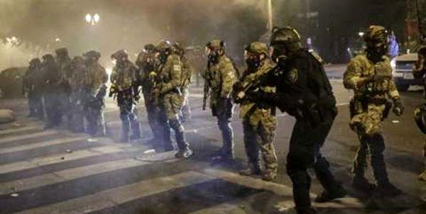 27 معترض در پورتلند توسط پلیس آمریکا بازداشت شدند