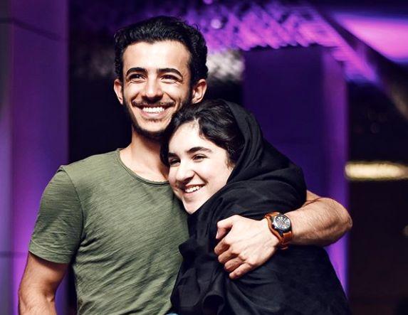 عکس پراحساس علی شادمان و خواهرش