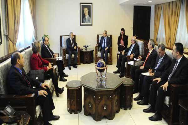 تمجید المقداد از هماهنگی ارتش سوریه و حشد شعبی عراق