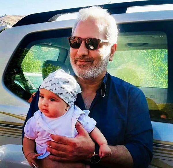 مهران مدیری با استایل جدید+عکس