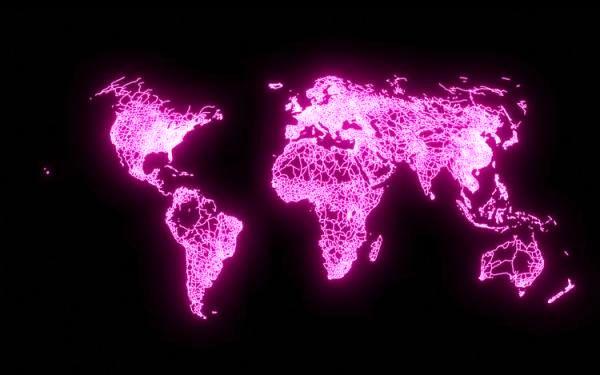 نقشههایی که نشان میدهد دنیا چقدر کوچک است!