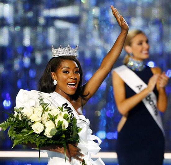 نیا ایمانی، برنده دختر شایسته آمریکا 2018