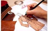 مراحل ترسیم انگاره و طراحی لباس بر روی آن