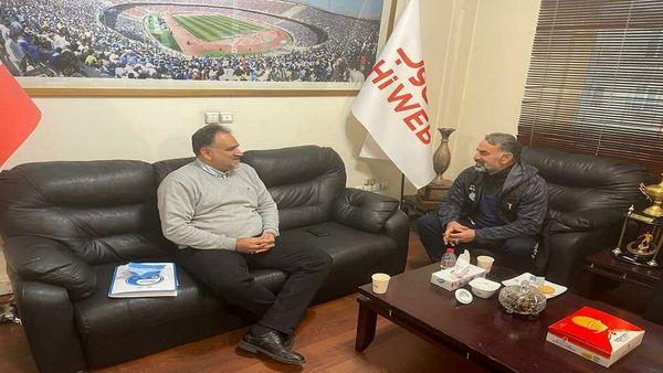 نشست فکری با مدیرعامل باشگاه استقلال