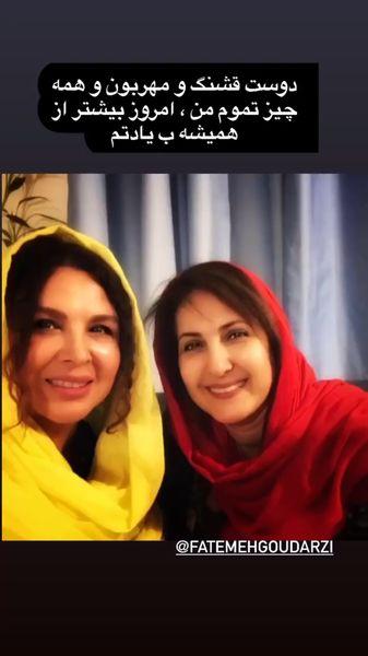 دلتنگی شهره سلطانی برای خانم بازیگر + عکس