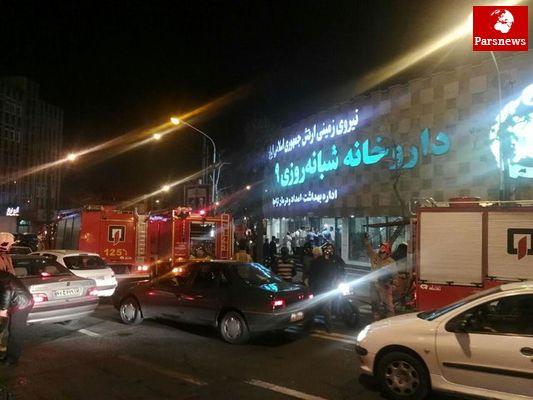جزییات حادثه شب گذشته داروخانه 29 فروردین ارتش