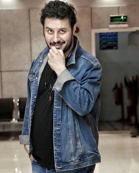 تیپ جین جواد عزتی بازیگر به نام زخم کاری + عکس
