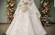 عکس لباس عروس فوق العاده زیبا الهام حمیدی