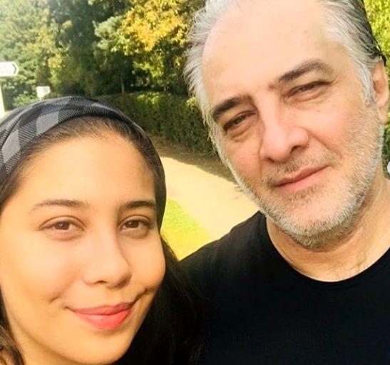 ایرج نوذری و دخترش در انگلیس+عکس