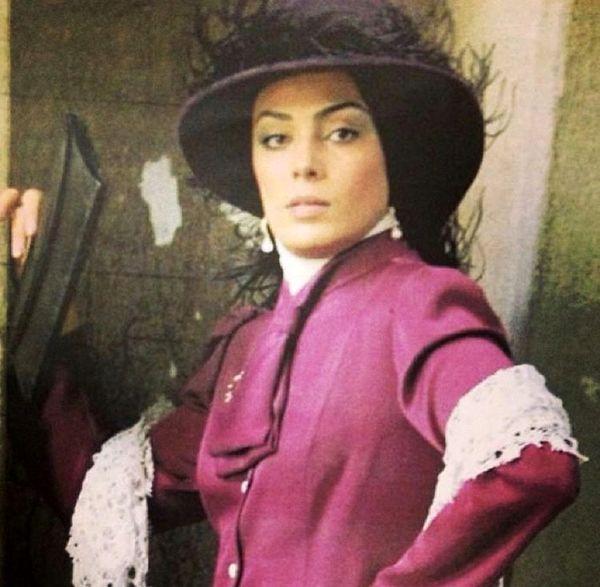 لباسهای سبک قدیمی سارا خوئینی ها + عکس