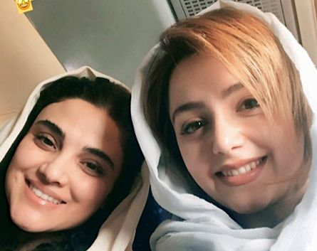 نازنین بیاتی و دختر سعید سهیلی در مسیر اصفهان /عکس