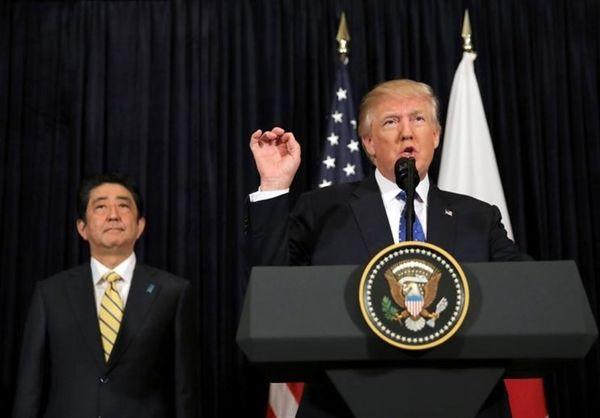 """تلاش """"آبه و ترامپ"""" برای توافق بر سر با کره شمالی"""