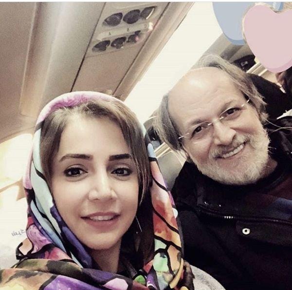 شبنمقلی خانی و بازیگر آقازاده در سفر + عکس