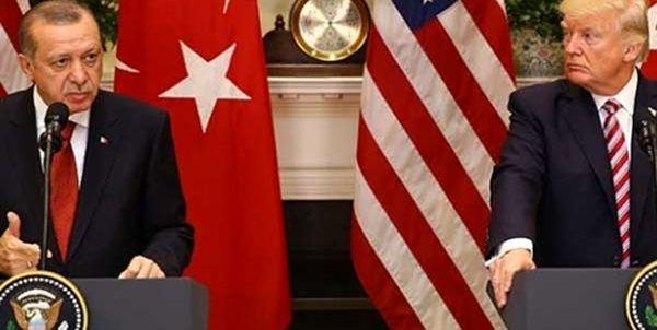 ترامپ از اردوغان تشکر کرد