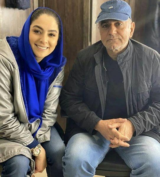 پرویز پرستویی با برادرزاده اش + عکی
